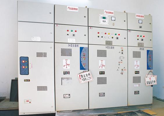 紫光电气承装东莞建越精密承轴电气安装工程