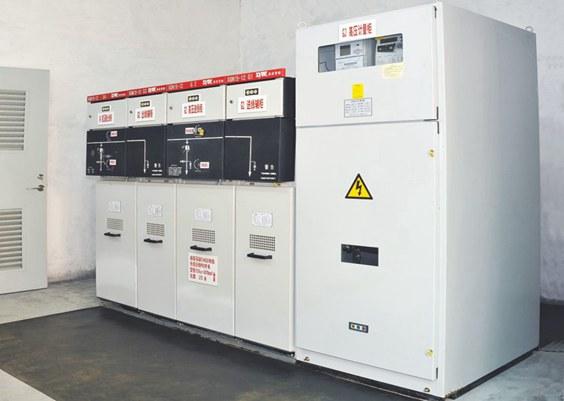 紫光电气承装东莞东城变压器安装工程