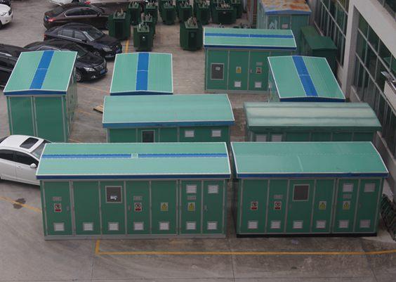 东莞茶山新装一台630kva箱式变电站安装工程