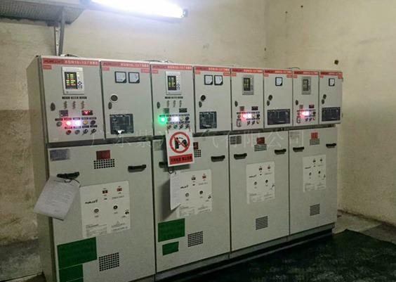 东莞茶山变压器安装工程-永富食品项目