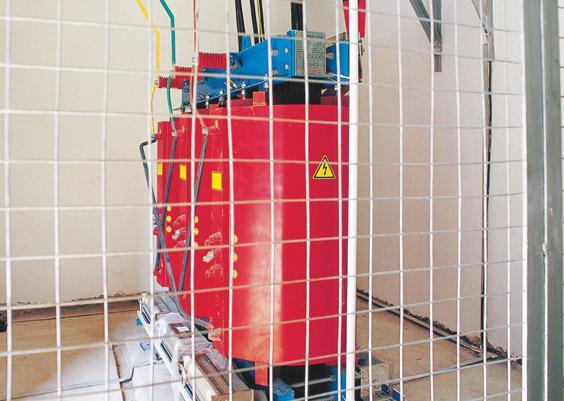 中铁三局使用紫光电气干式变电器