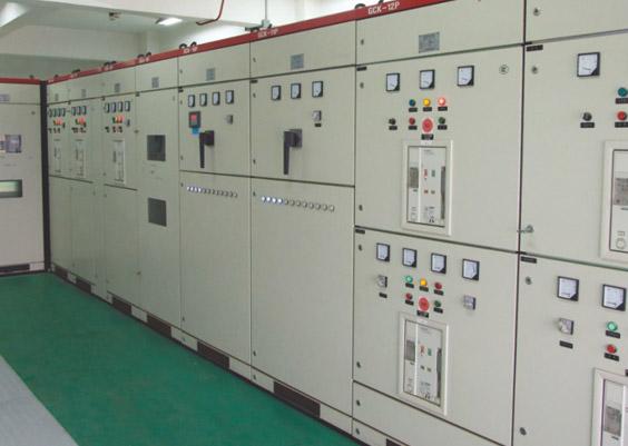 东莞蔚蓝城邦花园小区购置紫光低压配电柜