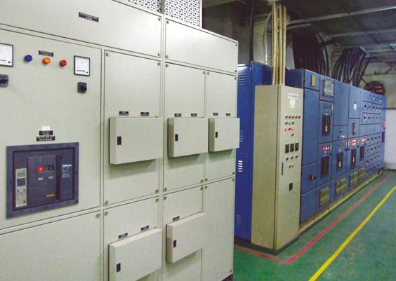 赣州市立医院机房采用紫光低压配电柜