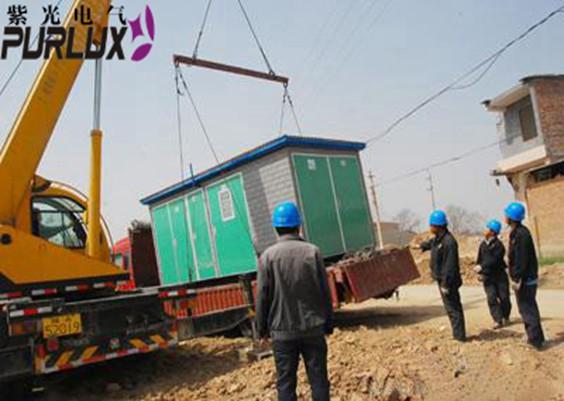东莞东坑箱式变电站安装-东沣智能科技新装一台800箱式变电站