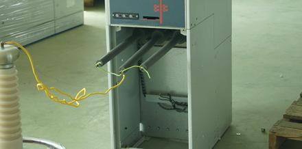 充气顾电缆室
