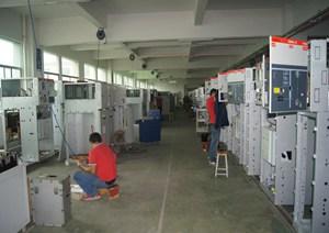 广东紫光电气成套车间2楼4